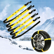 Snow Mud Tire Chain For Car Truck SUV Antiskid Winter Driving Roadway Safety
