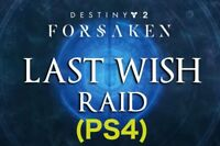 Destiny 2 | (PS4) Last Wish Raid Completion + All ChestsGUARANTEED WITHIN HOURS