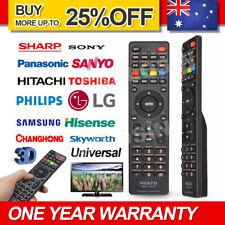 Universal TV Remote Control LCD/LED For Sony/Samsung/Panasonic/LG/TCL/Soniq AUS