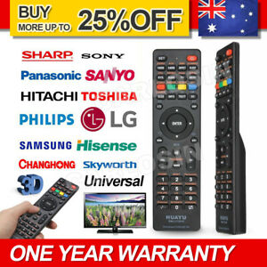 Universal TV Remote Control LCD/LED For Sony/Samsung/Panasonic/LG/TCL/Soniq AUS