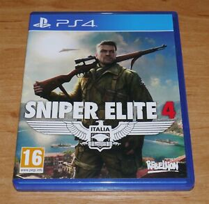 Sniper elite 4 Game for Sony PS4 Playstation 4