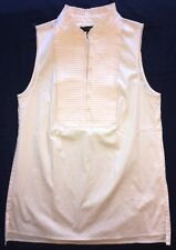 J Crew 2 Popover Tuxedo Top $78 NWT b1534 Light Peach NEW Without Tags