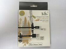 Apple Certified MFi MoiSse 15cm Lightning sync and charge cable 2.4A Iphone 7