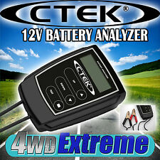 CTEK BATTERY ANALYZER TESTER 12V 12VOLT GEL AGM WET CALCIUM WORKSHOP CCA 56-925