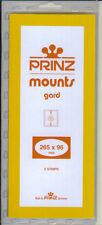 Package of 5 Prinz BLACK Mounts 265 x 96