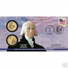 2007 James Madison $1 Coin Cover (P24)(SEALED)