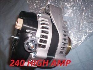 TOYOTA SUPRA MANUAL TURBO ALTERNATOR 94 95 96 97 98 3.0L 240 HIGH AMP Generator