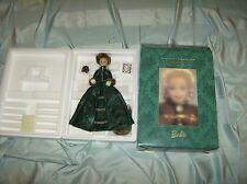 1996 Holiday Caroler Porcelain Barbie W/Shipper New !