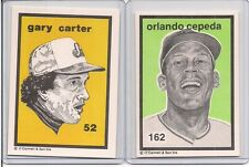 Expos GARY CARTER O'Connell & Son Ink Art Card #52   RARE