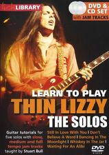 LICK LIBRARY Learn to Play The SOLOS THIN LIZZY Whiskey In The Jar Guitar DVD