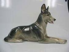 schäferhund Hund hundefigur porzellanfigur metzler ortloff  figur schäferhund