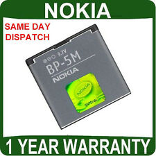 GENUINE Nokia BATTERY Mobile 6500 SLIDE , 6220 CLASSIC original cell phone bp5m