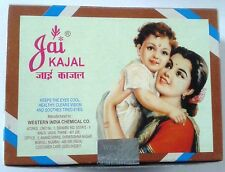 Kajal  Kohl  Surma  Jai Kajal  Set of 10 small rounds  Kajal for Eye