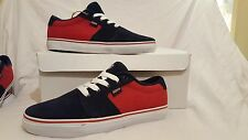 DVS MENS CONVICT BLUE RED SHOES TRAINERS UK SIZE 8 NEW UNBOXED US  9 EU 42.5