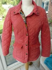 """JOULES sz 10 Pink padded/quilted """"MOREDALE"""" coat equestrian guc"""