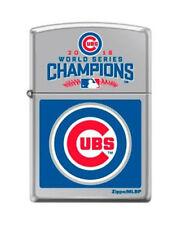 ZIPPO 2016 World Series Champions, Chicago Cubs - High Polish Chrome Lighter