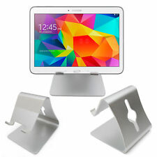 """Silver Tablet Stand for Samsung Galaxy Tab 4 10.1, 7.0, 8.0 / Tab S 10.5"""", 8.4"""""""