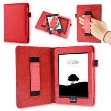 Tasche für Amazon Kindle Paperwhite Hülle Wake-Sleep Cover Schutz-Case Etui Rot