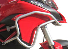 Paramotore HEED Ducati Multistrada 1200 / 950 (2015 - ) - Bunker argento + Borse