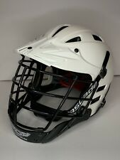 Cascade CLH2 Lacrosse Helmet White Size Small Black Mask Adjustable Chinstrap