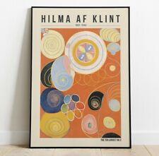 Hilma af Klint Art Print, The ten largest No 2 Print, Home Decor, Abstract Art
