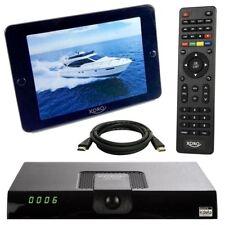 DVB-T2 Receiver mit 36dB Antenne Xoro HRT 8724 HD Freenet TV PVR USB 8720 HDMI