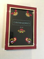 NEW Cynthia Rowley Picture Frame 4 X 6 $24.99 + Free Shipping