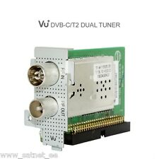 VU+ DUAL TWIN DVB-C DVB-T2/T Tuner Solo SE V2 4K Uno Ultimo Duo2 Cable Freeview
