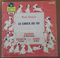 LA CARICA DEI 101 - DSP 305 - 1965 - WALT DISNEY -CGD - GUARDA - ASCOLTA - LEGGI