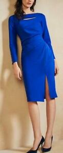 Coast - Marci Shift Dress - Cobalt Blue - Size 12 or 16 (Brand New With Tag)