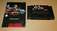 Killer Instinct With Manual Super Nintendo SNES Fast Shipping Authentic