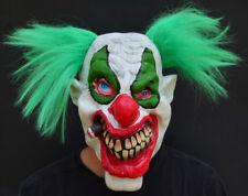 Creepy Evil Scary Halloween Clown Mask Rubber Latex PUFF PUFF CLOWN