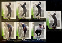 Lot of 7 - 2001 UD Upper Deck Golf E-Card - Montgomerie Garcia RC Duval RC
