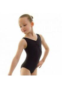 Roch Valley Sheree lycra sleeveless ballet / dance leotard in Black