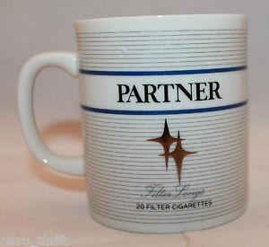 Japanese Partner Filter Cigarette  Advertising Coffee Mug Cup Tobacco JT Rare