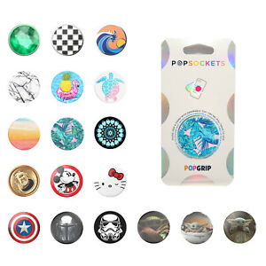 Genuine PopSockets PopGrip - Premium, Disney, Marvel, Star Wars, Hello Kitty