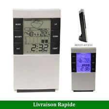 Station météo Thermomètre intérieur sans fil Digital Hygromètre Horloge