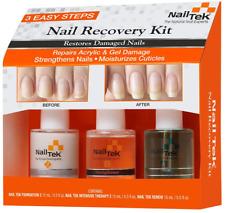 Nail Tek Nail Recovery Kit, Cuticle Oil, Strengthener, Ridge Filler - restore da