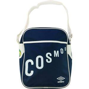 New York Cosmos Retro Messenger Shoulder Bag 30312U - N84 Dark Navy/White