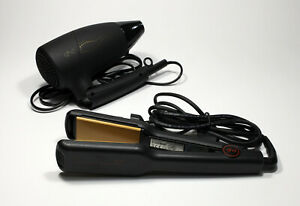 Kit GHD - Piastra per capelli SS4.0 Versione 2 + asciugacapelli da viaggio HD784