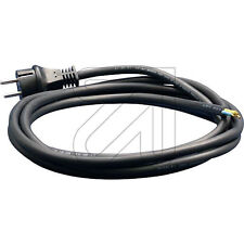 Kabel,Anschlußkabel,Netzleitung H05-RN-F 2x1,0mm²; 3,0m