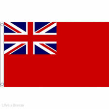 Red Ensign Large Flag 8ft x 5ft British Merchant Navy Naval Banner With 2 Eyelet
