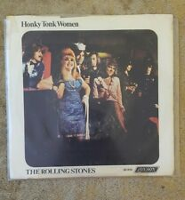 """THE ROLLING STONES Honky Tonk Woman/You Can't Always Get What You Want 7"""" LONDON"""