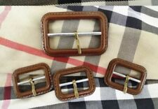 Burberry Buckle Replacement For Trench Coat /Mac Brown Set Of 3