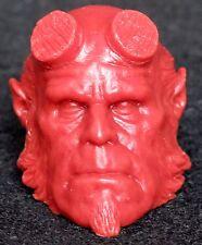 1/6 scale plastic unpainted action figure head sculpt hellboy hot toys rare