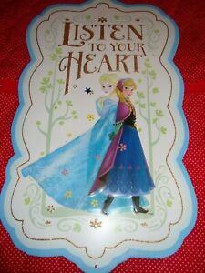 "'Disney Princess' Metal Sign Plaque Open Road Brand~11.63""x 20"" Girls Decor  340"