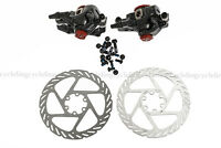 AVID MTB BB7 Mechanical Disc Brake Front and Rear Calipers with 160mm G2 Rotors