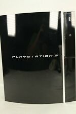 Sony PlayStation 3 Black Game Console Only CECHG01 40GB Tested Working