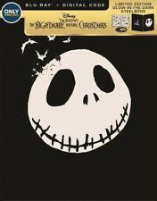 The Nightmare Before Christmas Best Buy Glow In The Dark STEELBOOK Blu-Ray