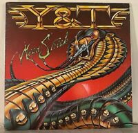 Y&T - Mean Streak LP 1983 First Press A&M Records 80s Glam / Hair Metal NM/NM